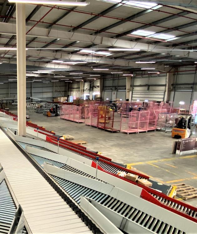 Rehabilitación de edificios logísticos o almacenes existentes
